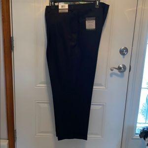 Big&Tall black dress pants. Size 48w x 29L NWT
